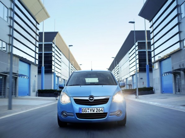 Opel Agila ecoFLEX (2012)