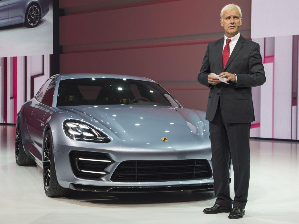 Porsche Panamera Sport Turismo - Studie eines Plug-in Hybrid aus Zuffenhausen