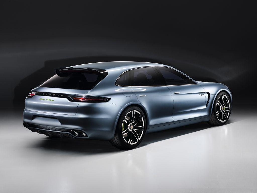 Porsche Panamera Sport Turismo - Shooting BRake