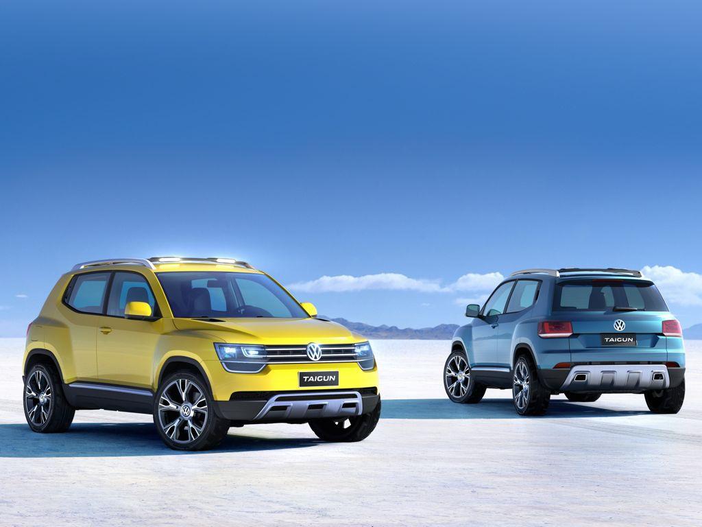 VW Taigun: Erste Bilder der neuen SUV Studie von Volkswagen