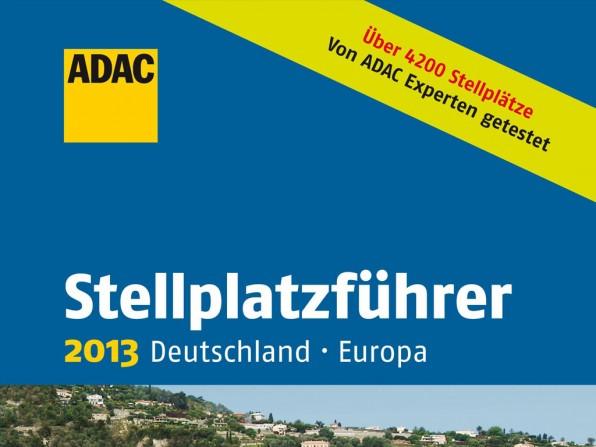 Neuer ADAC Stellplatzführer 2013 erschienen