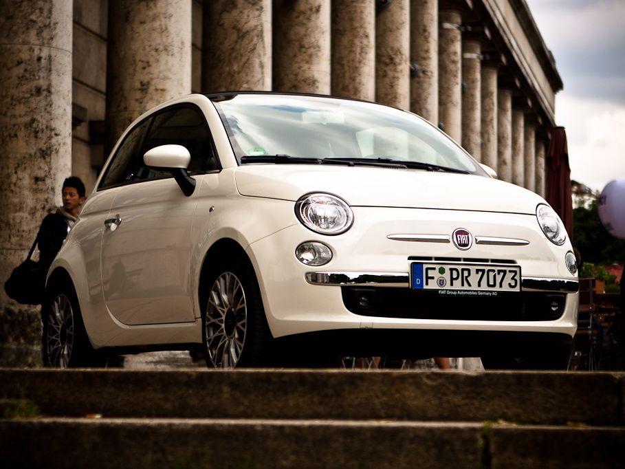 Erfolgsgeschichte: Fiat 500 mehr als eine Millionen Mal produziert