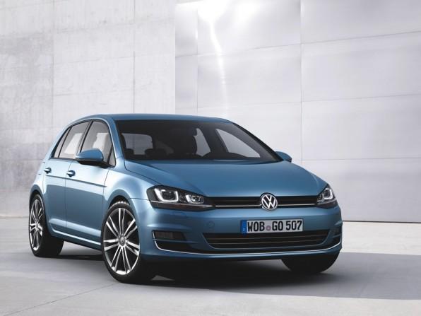 VW Golf 7 Trendline BlueMotion Technology 1.6 TDI mit 5-Gang-Schaltgetriebe (2013)