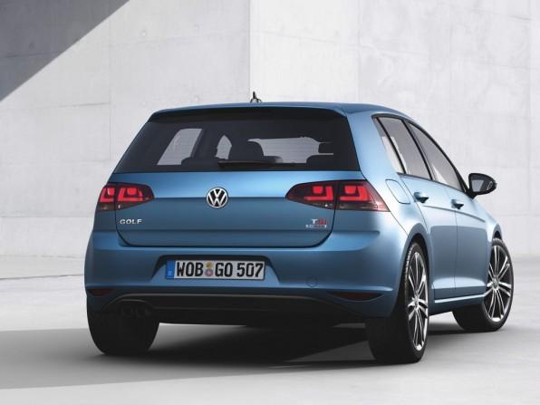 VW Golf 7 Trendline BlueMotion Technology 1,2 TSI mit 6-Gang-Schaltgetriebe (2013)