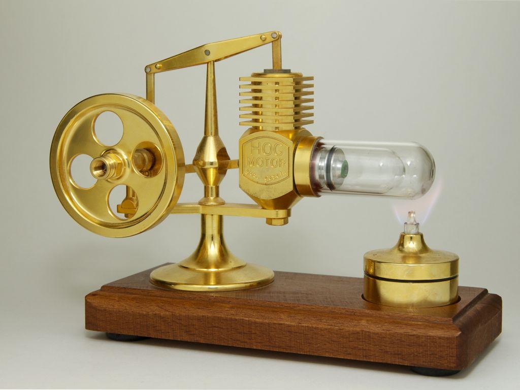 Technik: Stirlingmotor - Aufbau und Funktionsweise