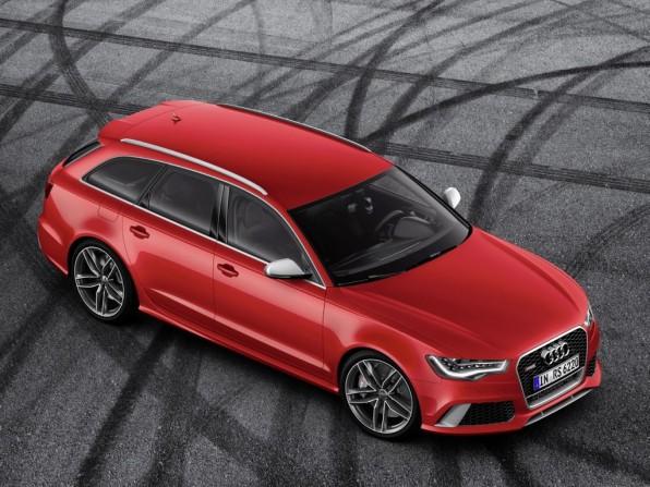 Audi RS6 Avant mit Automatikgetriebe