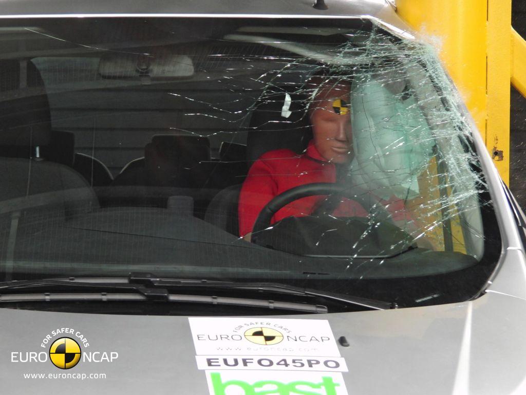 Ford Transit ist der sicherste Transporter beim Euro NCAP Crashtest 2012