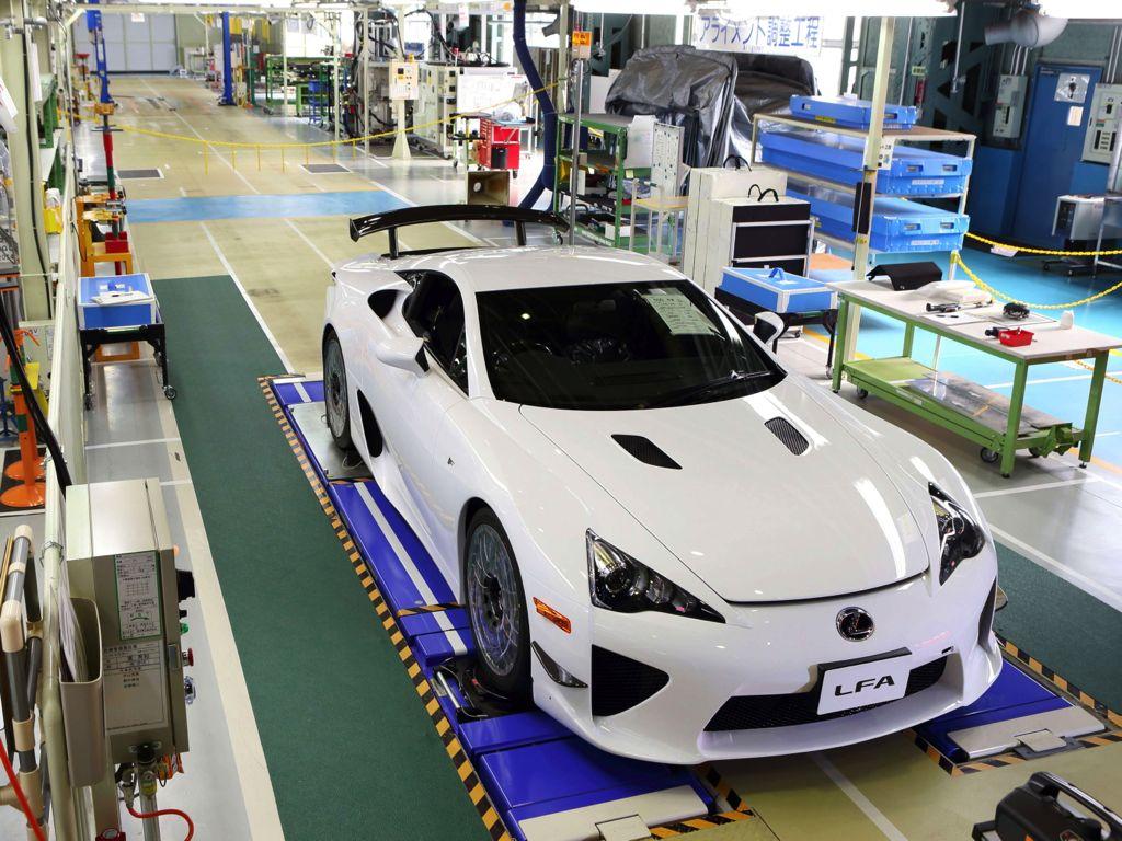 Produktion des Lexus LFA nach 500 Modellen eingestellt