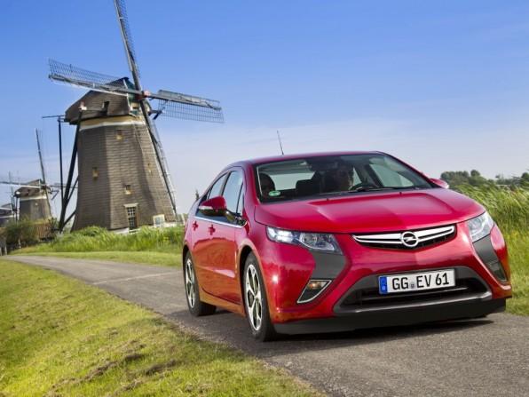 Opel Ampera ist das erfolgreichste Elektroauto in Europa