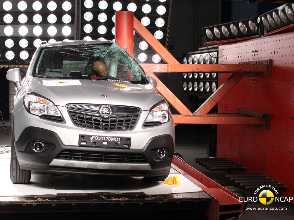 NCAP Crashtest Opel Mokka 2012