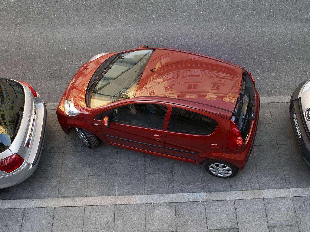 3 Sterne für den Peugeot 107 im NCAP Crashtest