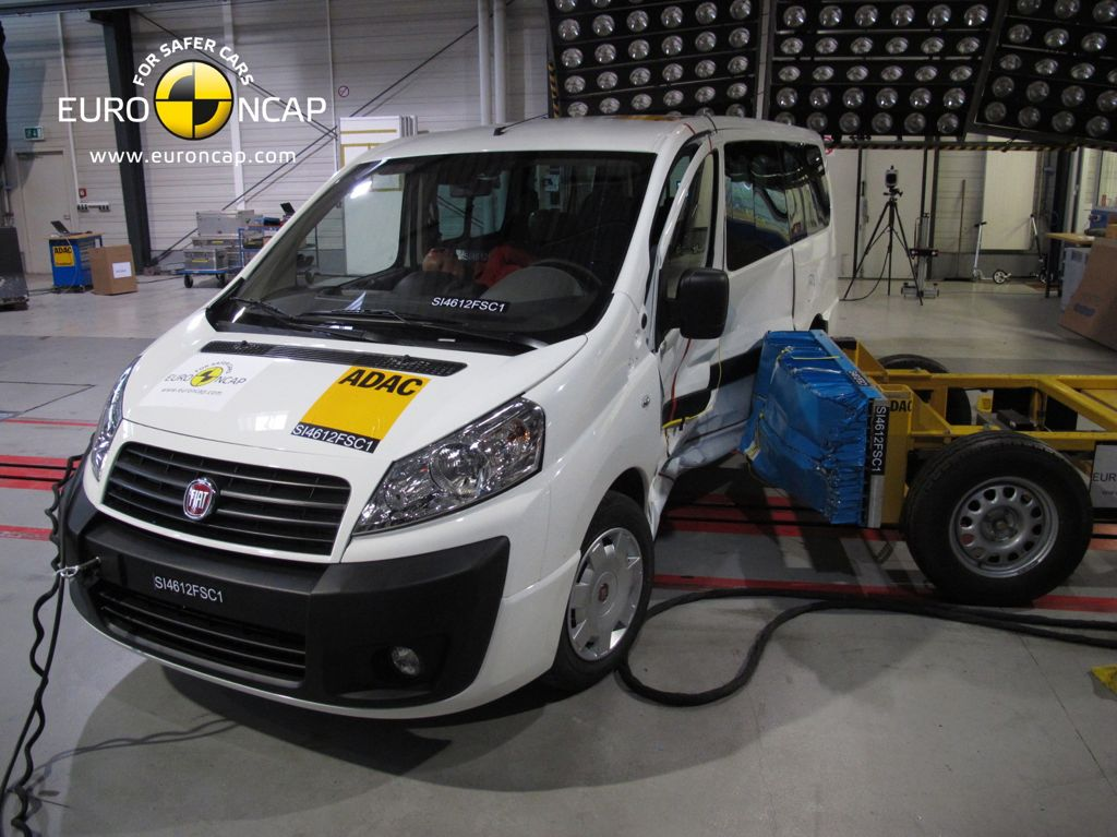 NCAP Crashtest Peugeot Expert 2012