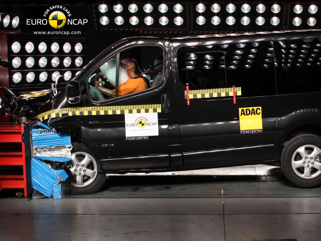 Renault Trafic NCAP Crashtest (2012)