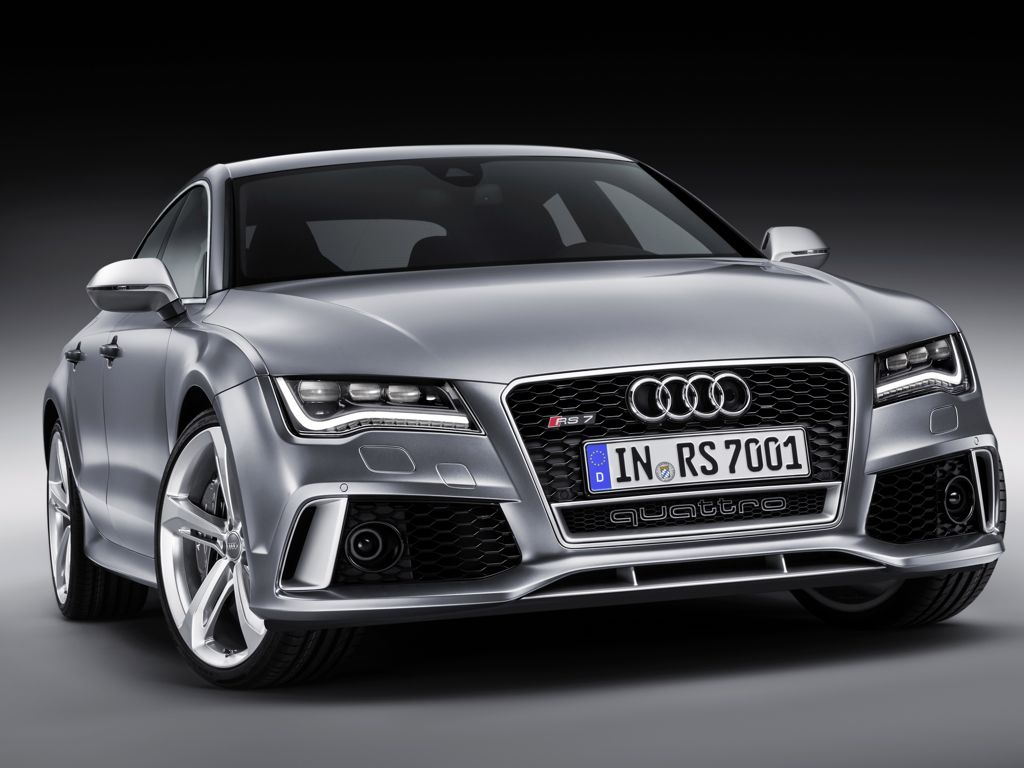 Audi RS 7 Sportback: technische Daten des V8-Biturbo mit 560 PS
