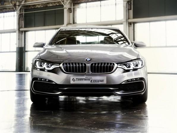 NAIAS 2013: So sieht das neuen BMW Concept 4er Coupé aus