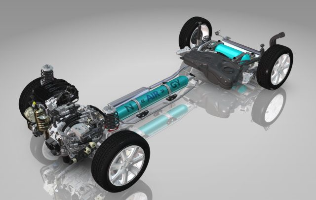 Hybrid Air Antriebssystem von Citroen spart Kraftstoff und Kosten - Hybrid Air: Revolutionäres Antriebssystem von Citroen spart Kraftstoff und Kosten