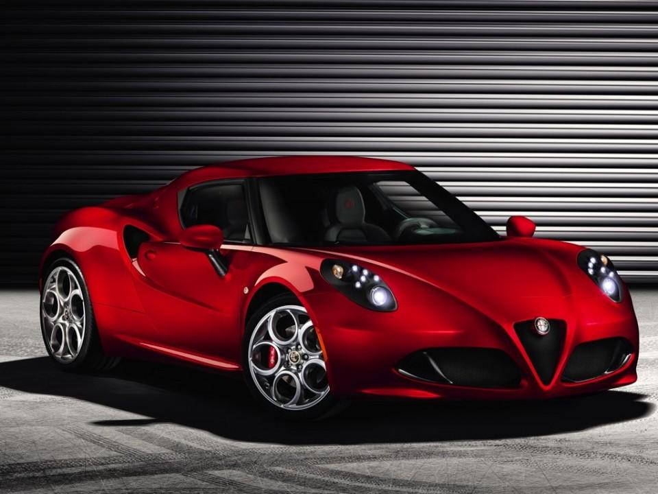 Alfa Romeo 4C: Der kleine Flitzer soll dieses Jahr auf den Markt kommen