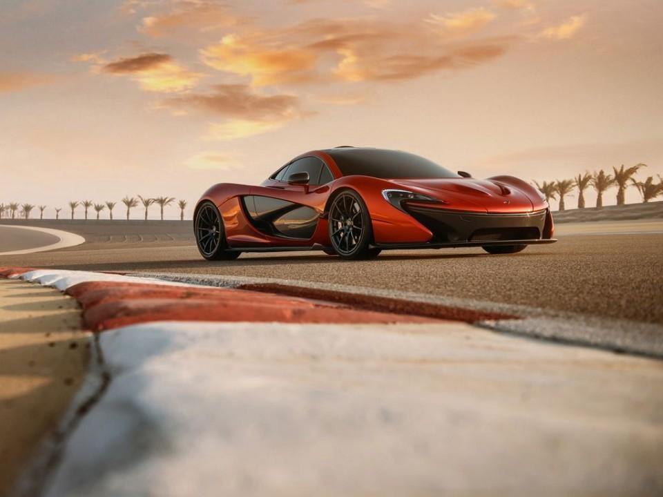 McLaren P1 Frontansicht