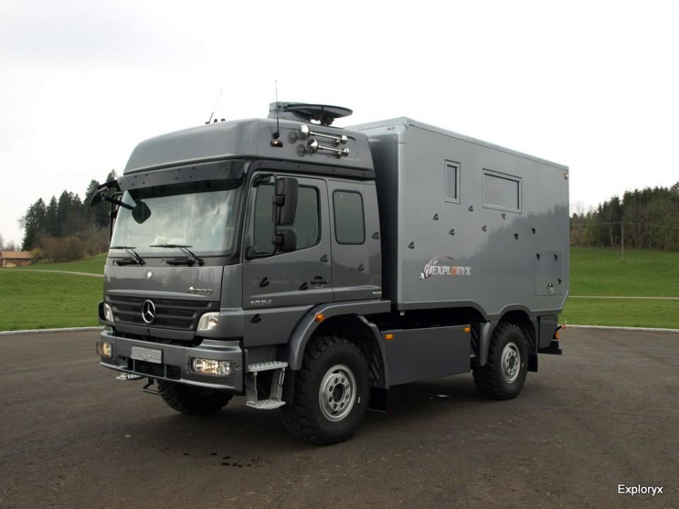 Exploryx Nyala family - Basisfahrzeug: Mercedes Benz Atego