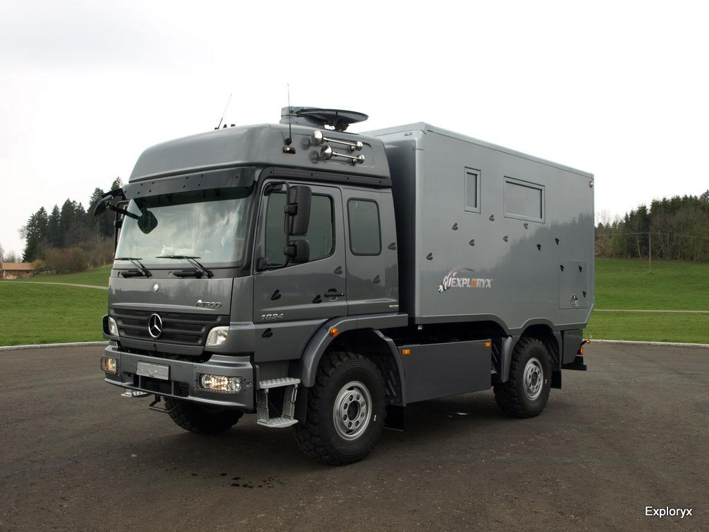Exploryx Nyala family – Basisfahrzeug: Mercedes Benz Atego