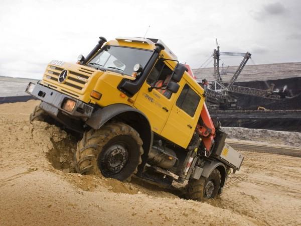 Unimog U 5000 201302 600x450 - Mercedes-Benz Unimog U 5000 - Basisfahrzeug