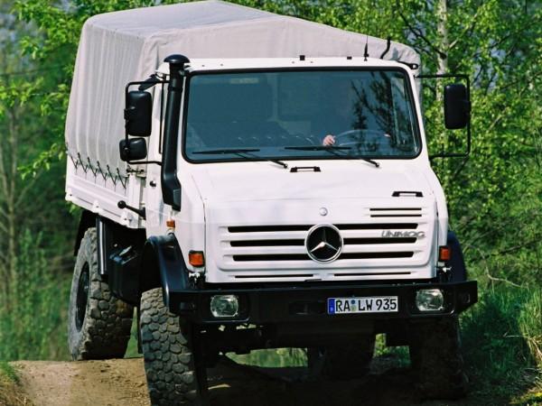 Unimog U 5000 Verwindungssteifigkeit und Portalachsen