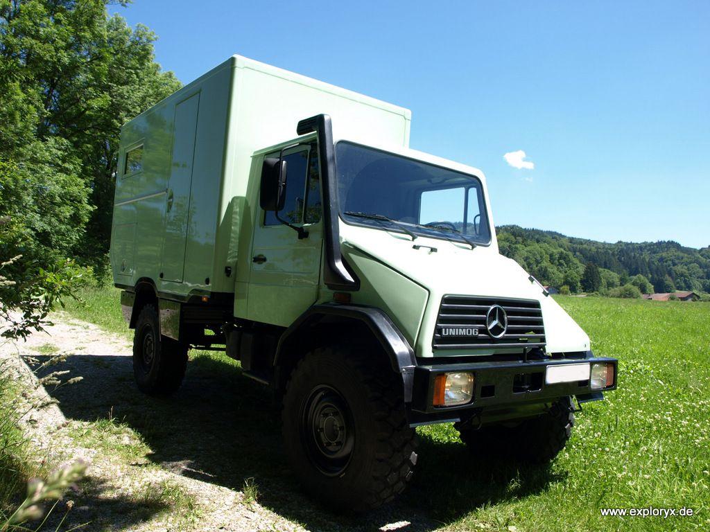 Explory Klippspringer U140L (Basis Unimog)