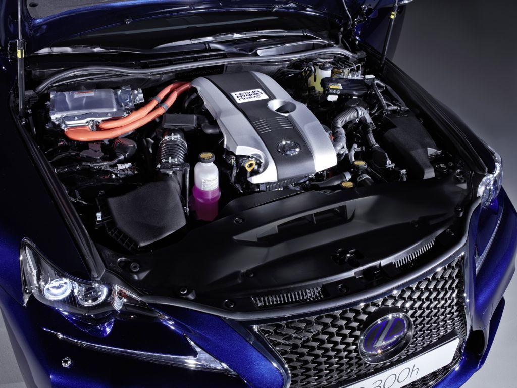 lexus is 300h mj2013 img 7 - Genf 2013: Lexus IS 300h - technische Daten im Überblick