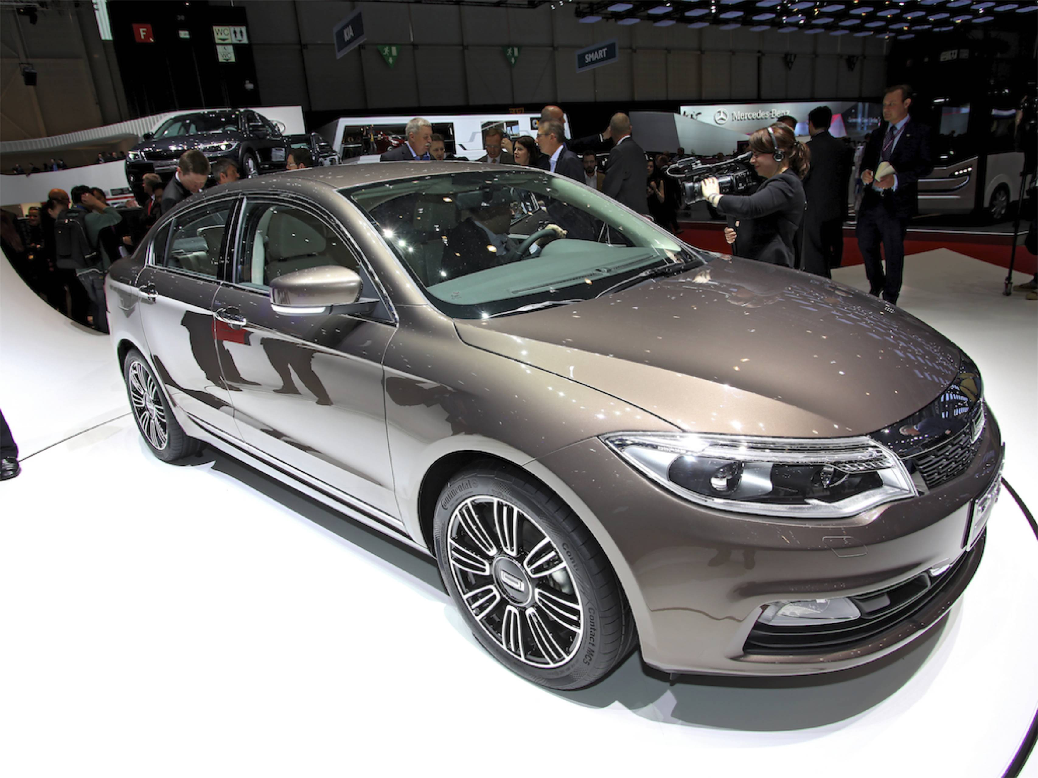 Qoros (2013) in Genf 2013