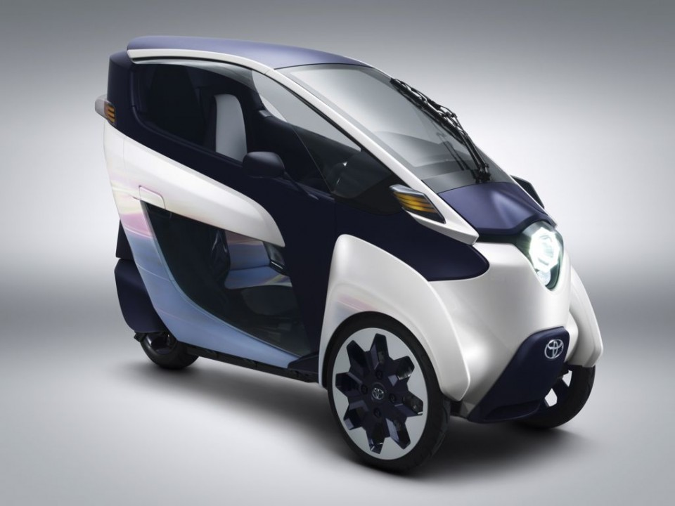 Toyota i-Road Elektroauto (2013) in Genf 2013