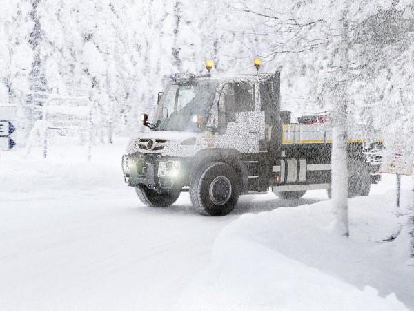 unimog test finnland 2013 1 600x450 - Neuer Unimog Motor: Härtetest für Euro-6 Motoren in Finnland
