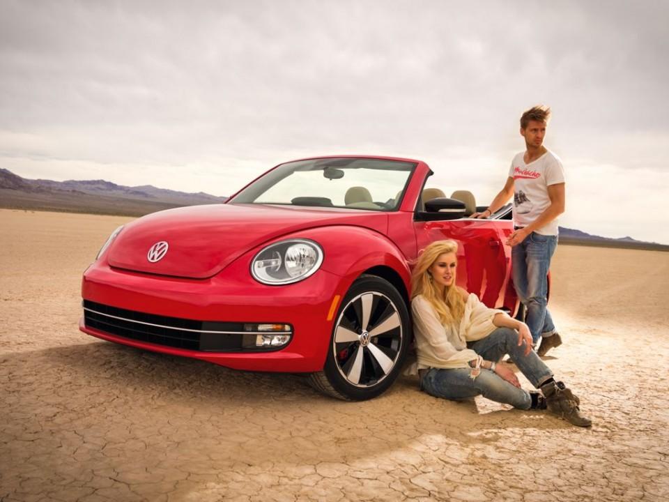 VW Beetle Cabrio (2013)