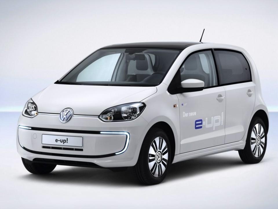 VW e-Up! (2013) Elektroauto mit 150 Kilometern Reichweite