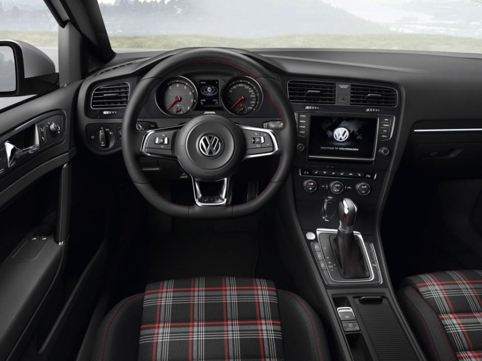 VW Golf GTI Innenaussattung