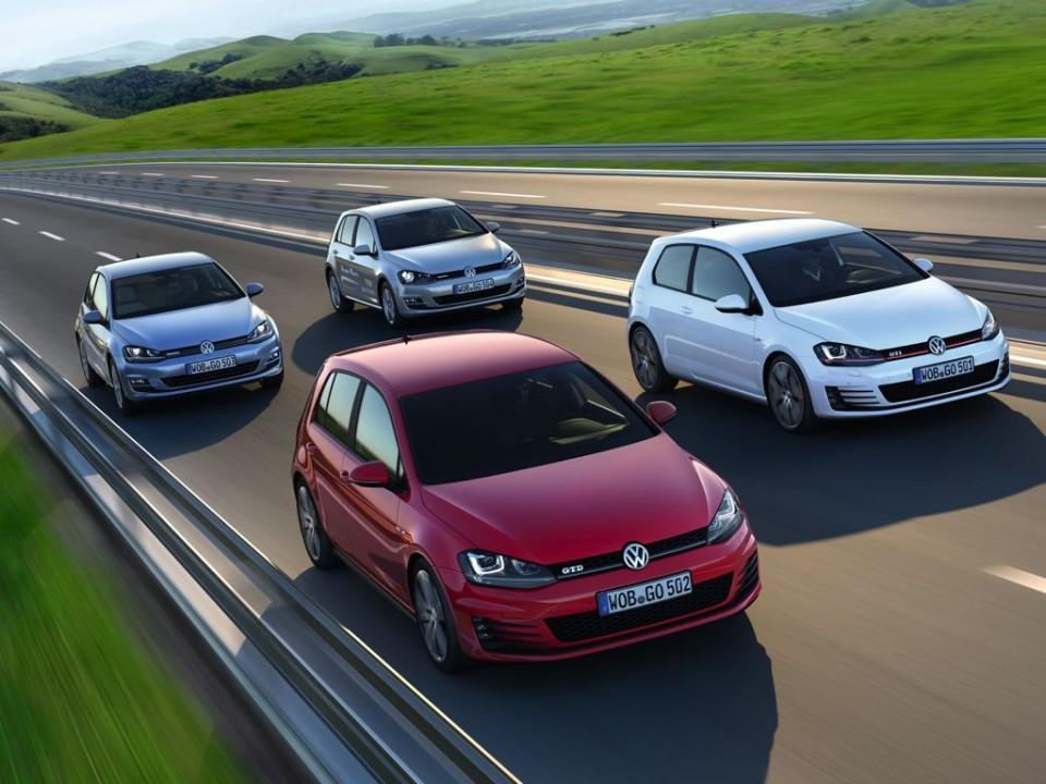VW Golf GTI Modellfamilie