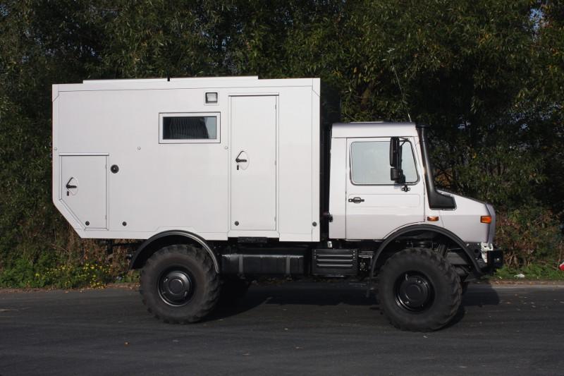 Bocklet Dakar 600: Kompaktes Expeditonsmobil auf Basis Unimog U435