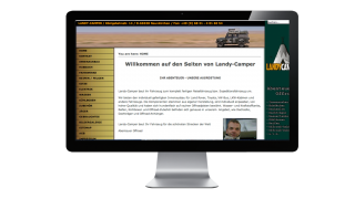 Landy Campers Reisemobile Herteller Webseite