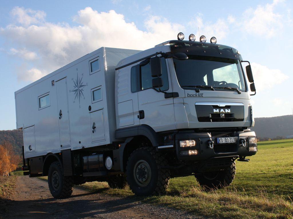 Bocklet Dakar 830F: Expeditionsmobil auf Basis MAN TGM