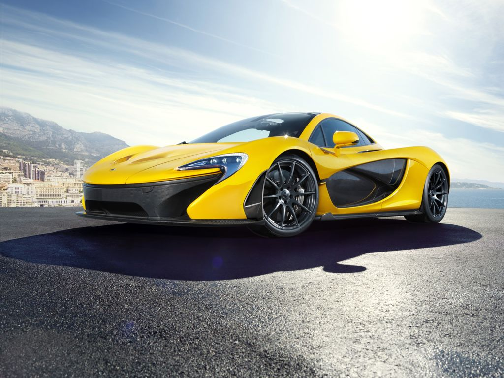McLaren P1 - Supersportwagen