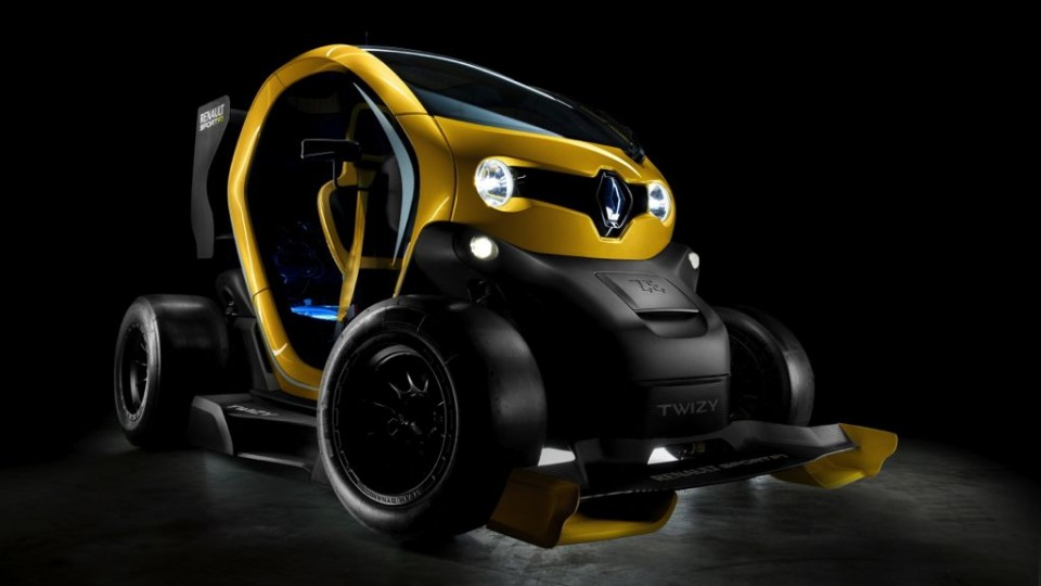 Renault Twizy Sport F1 - Elektroflitzer mit Rennsport Ambitionen