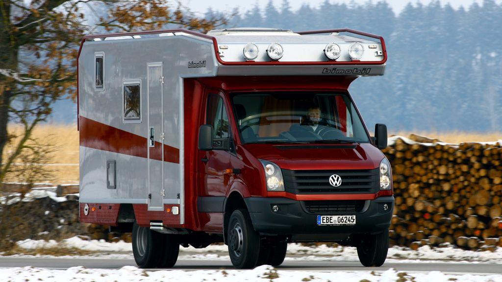 bimobil EX 400 auf Basis VW Crafter