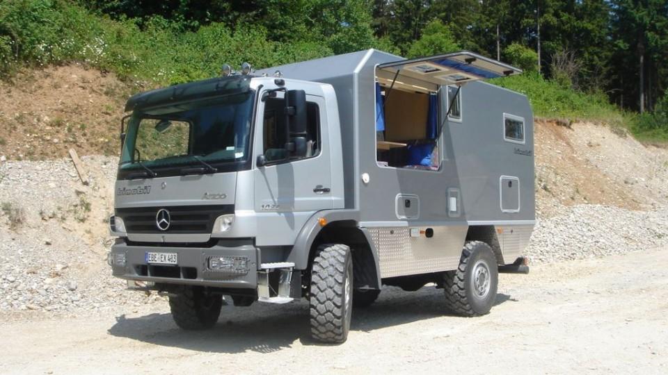 bimobil EX 480 - Expeditionsmobil auf Basis Mercedes Benz ...