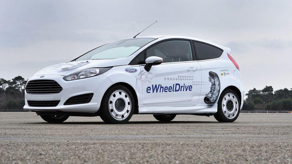 Ford Fiesta e-Wheeldrive - Viel Platz im Innenraum dank Radnabenmotor