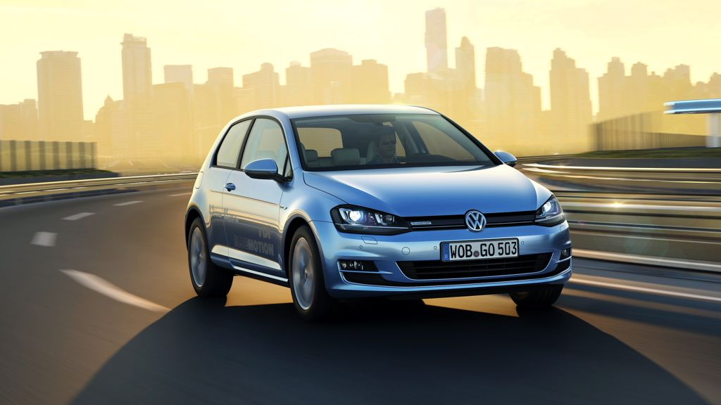 VW Golf TDI Bluemotion (2013)