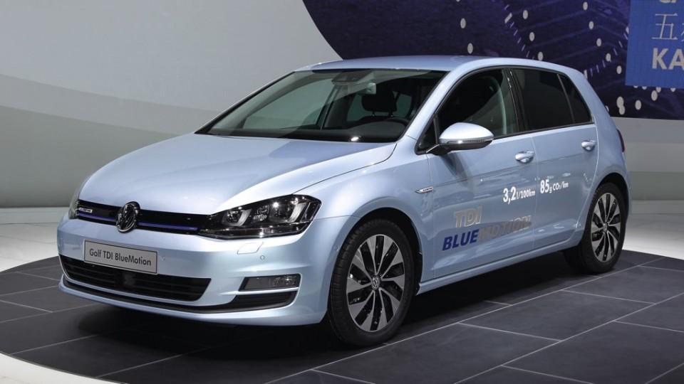 Golf TDI BlueMotion mit nur 3,2 Liter Verbrauch