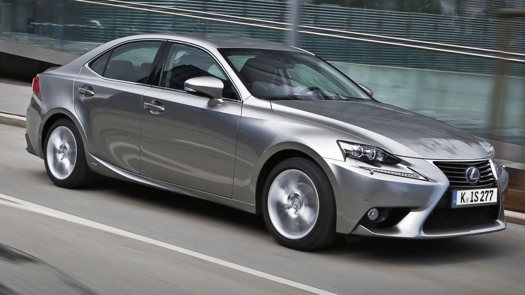 So sieht der neue Lexus IS 300 aus