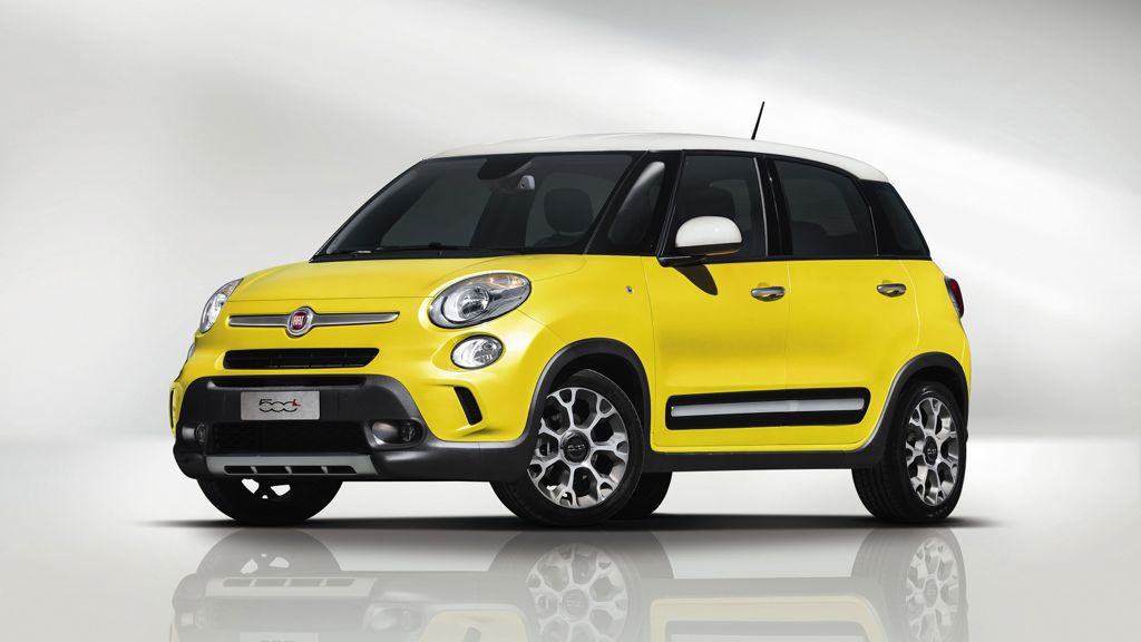 Neuer Fiat 500 L Trekking kommt ohne Allradantrieb ab 19.550 Euro auf den Markt