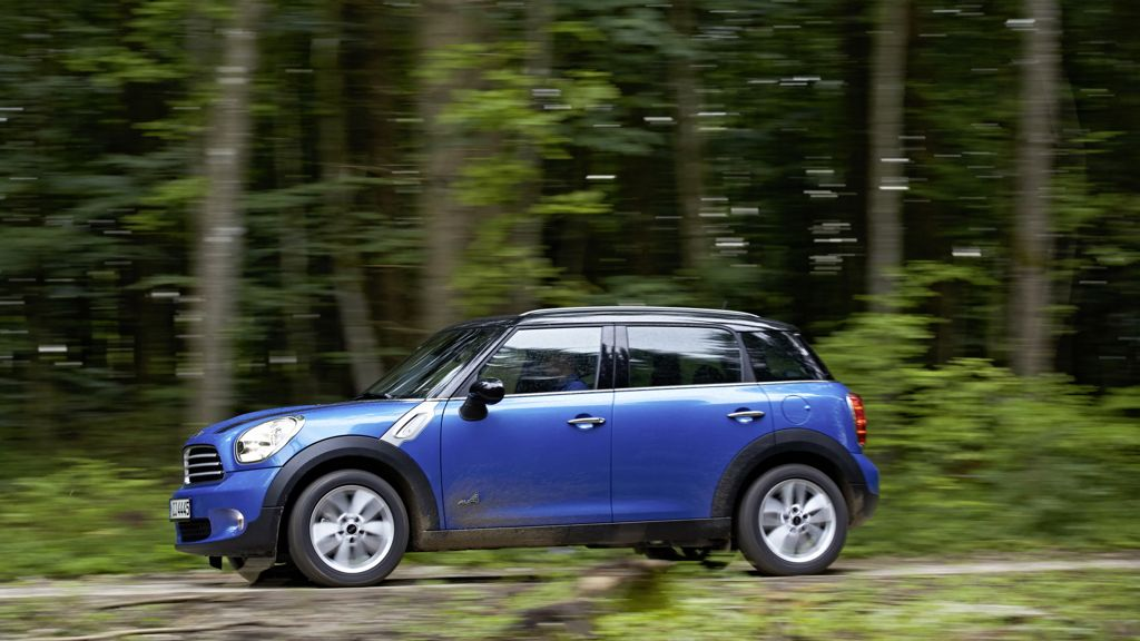 Mini Counryman ALL4 mit 4x4 Allradantrieb