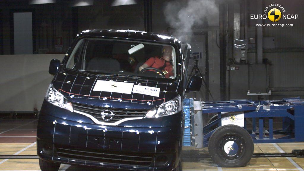 nissan evalia crashtest img 1 - Nissan Evalia erreicht nur 3 Sterne im NCAP Crashtest