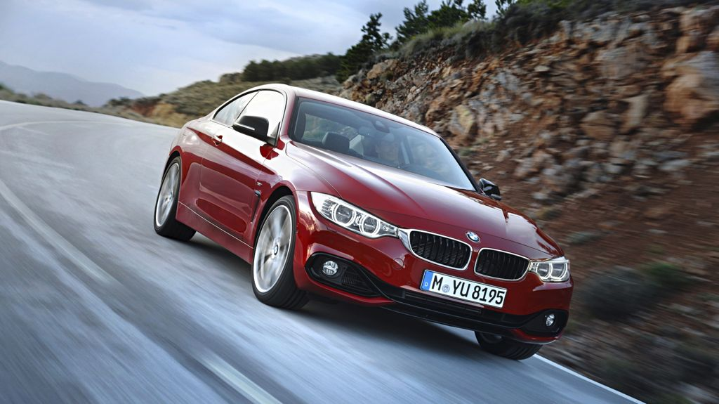 BMW 4er Coupe (2013) Quelle: BMW Presse